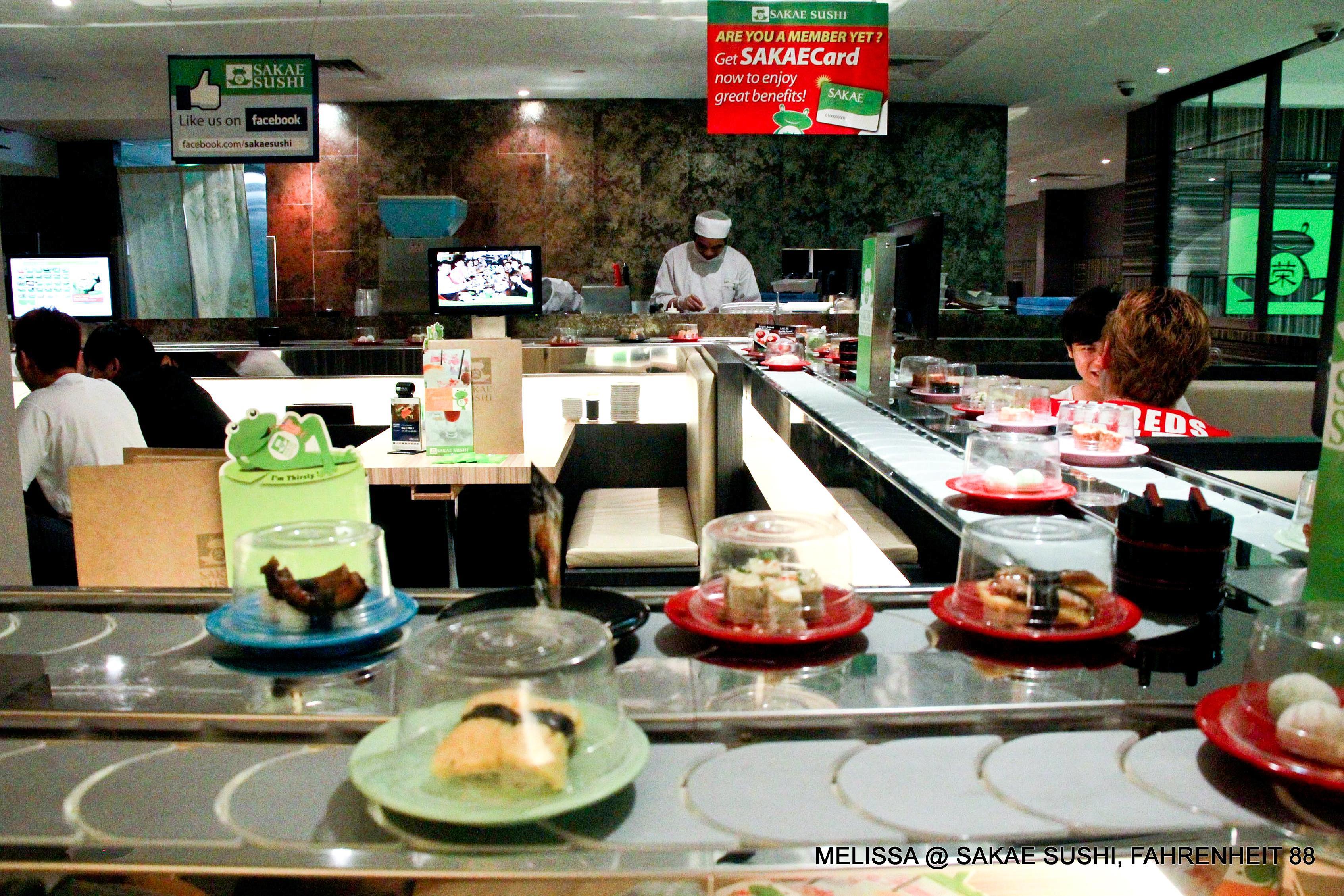 Dinner Sakae Sushi Fahrenheit88 Kl This Is Me Melissa S Blog