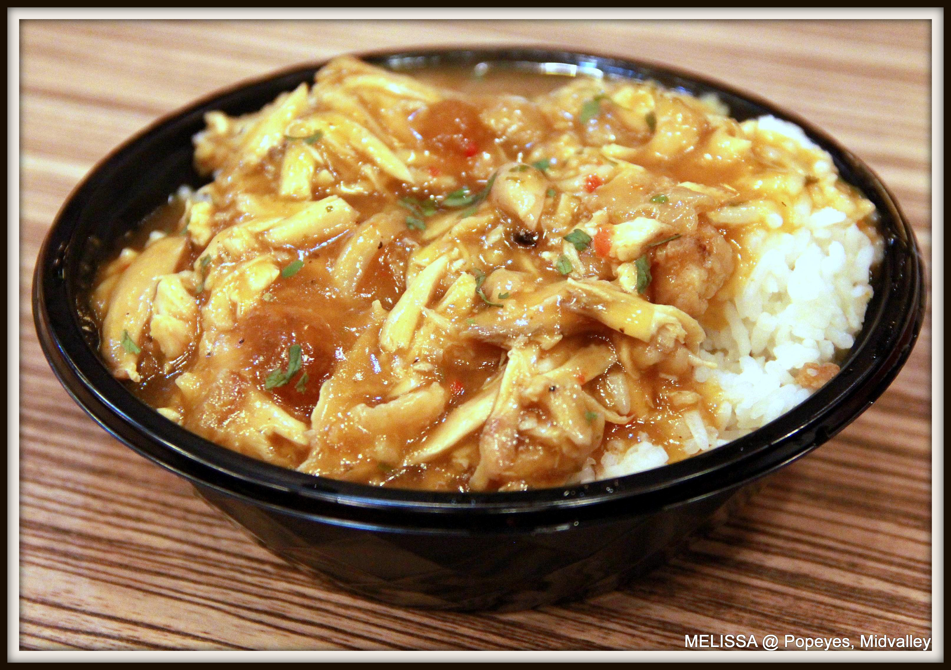 Lunch @ Popeyes Louisiana Kitchen, Midvalley | This is Me; Melissa\'s ...