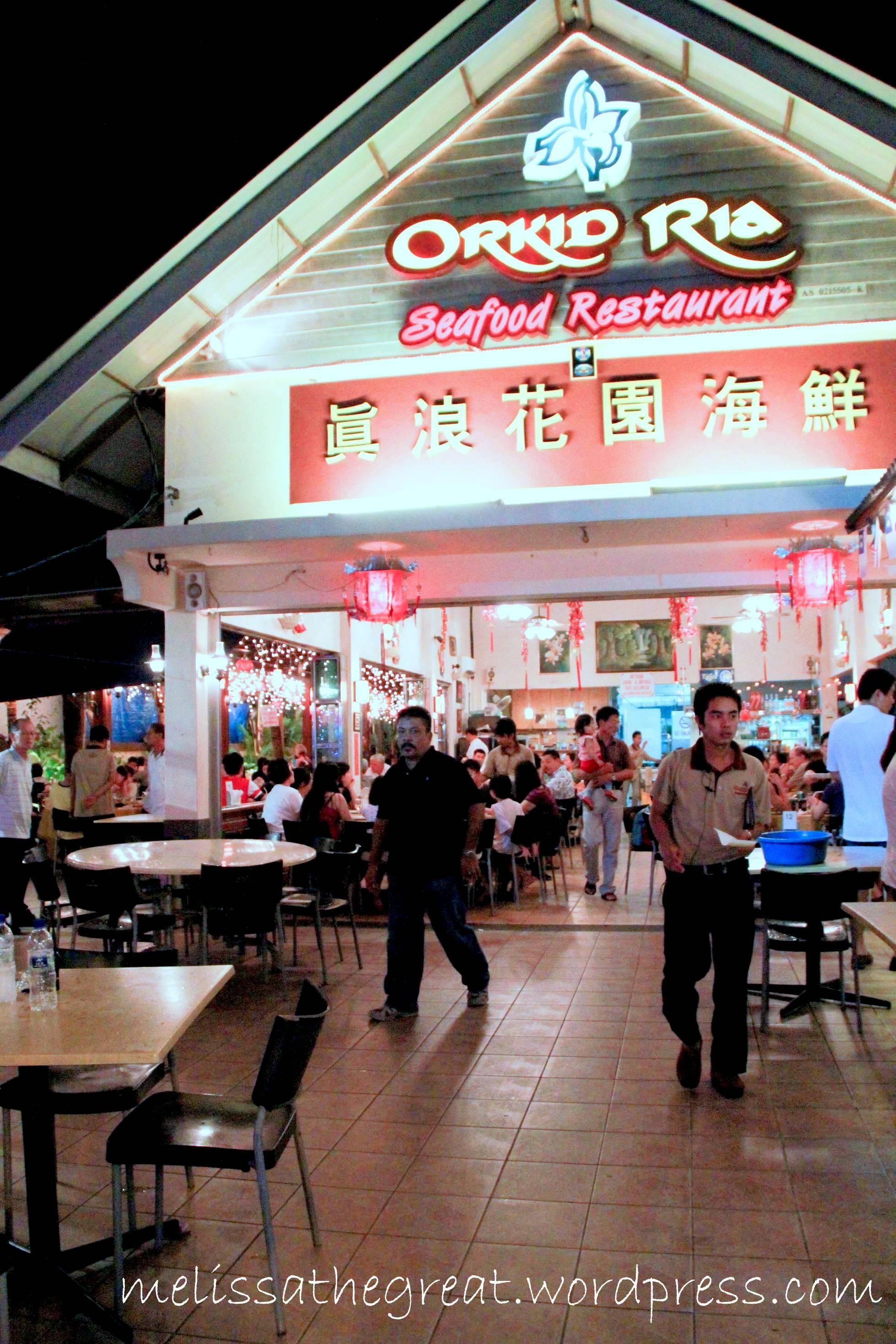 Orkid Ria Seafood Restaurant Halal